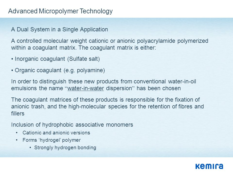Advanced Micropolymer Technology