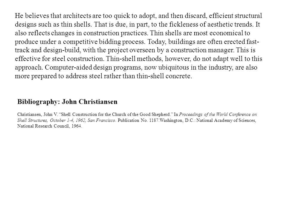 Bibliography: John Christiansen