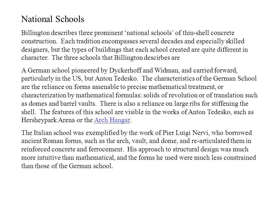 National Schools