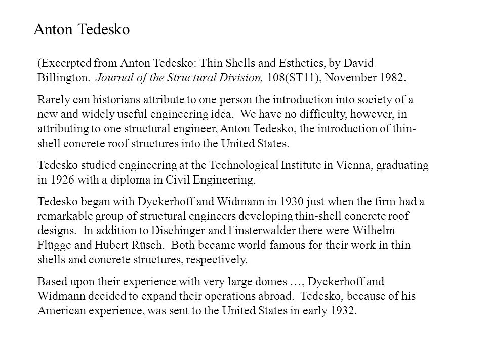 Anton Tedesko