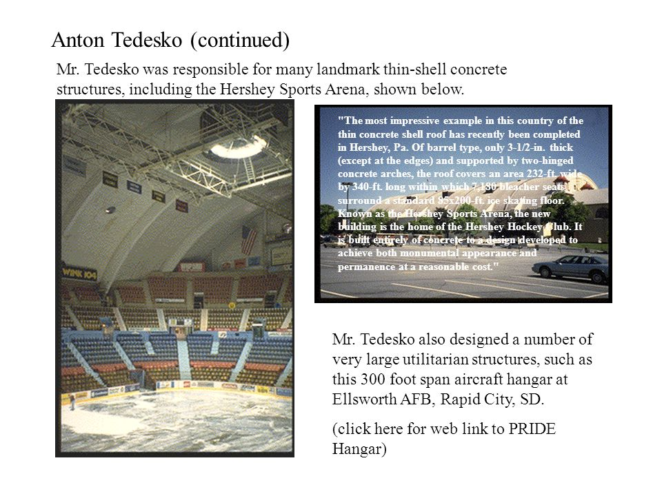 Anton Tedesko (continued)