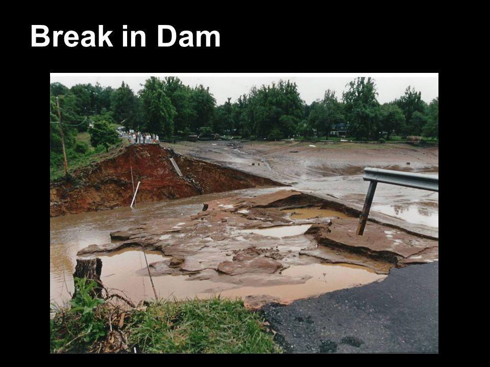 Break in Dam The Break
