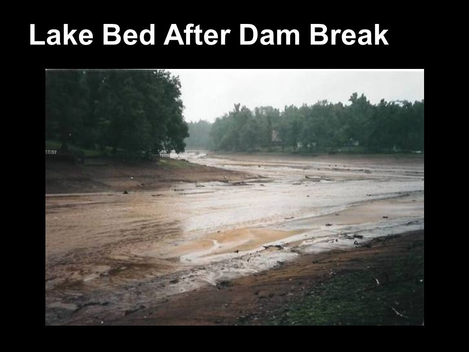 Lake Bed After Dam Break