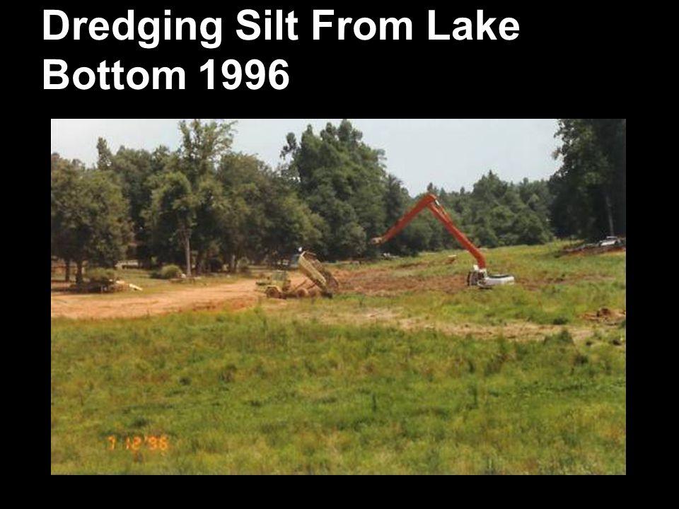 Dredging Silt From Lake Bottom 1996