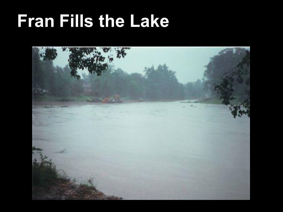 Fran Fills the Lake