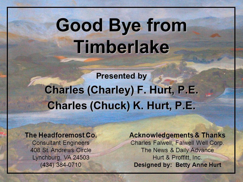 Good Bye from Timberlake