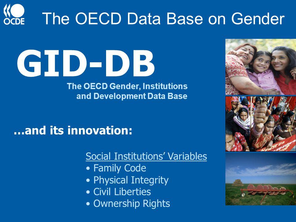 The OECD Data Base on Gender
