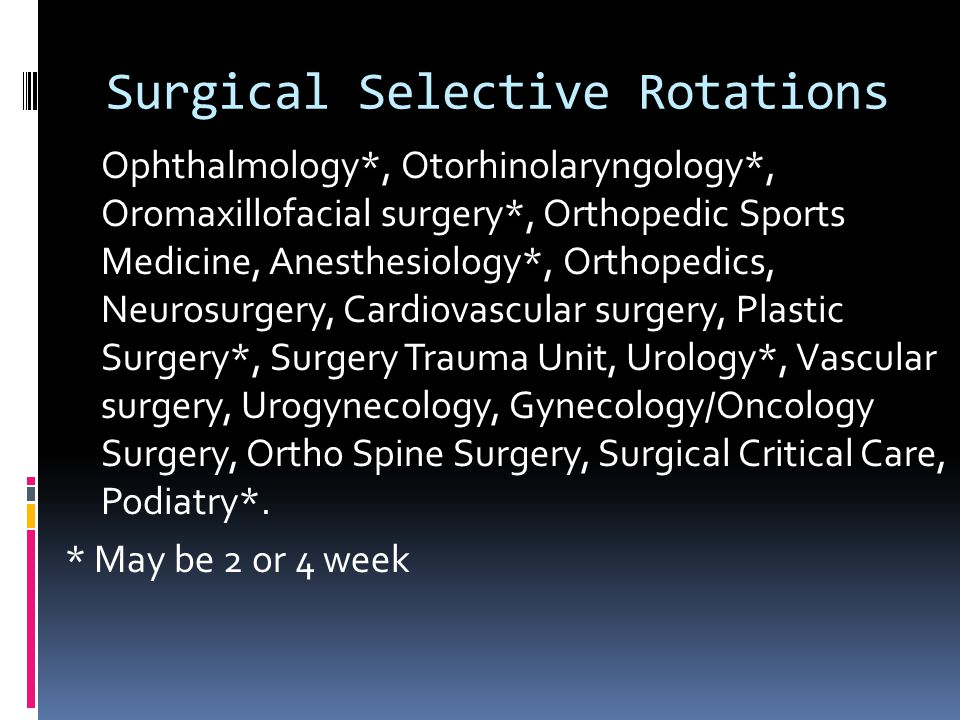 Surgical Selective Rotations