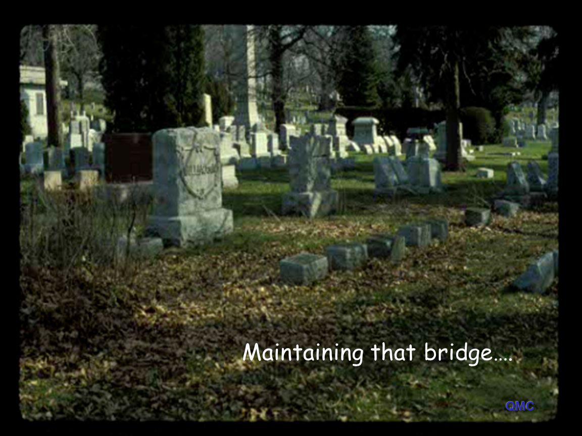 Maintaining that bridge….