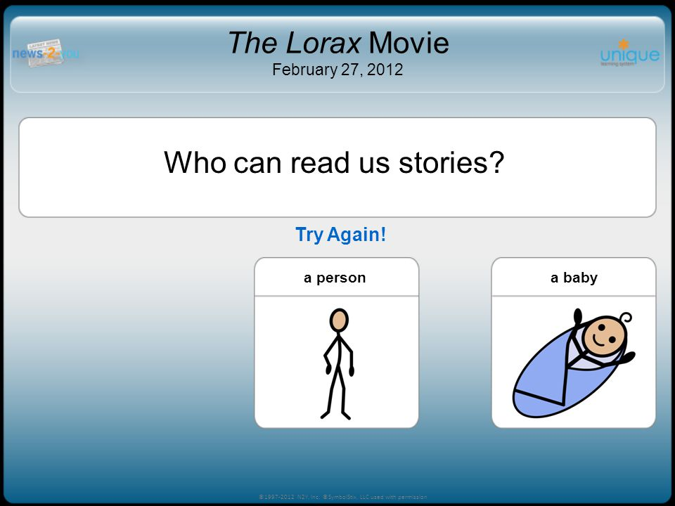 The Lorax Movie February 27, 2012