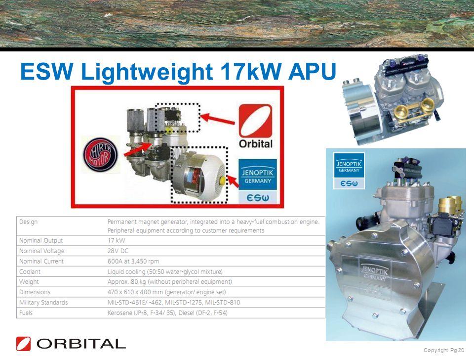 ESW Lightweight 17kW APU
