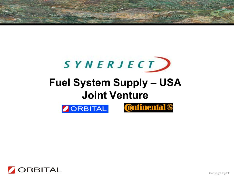 Fuel System Supply – USA Joint Venture