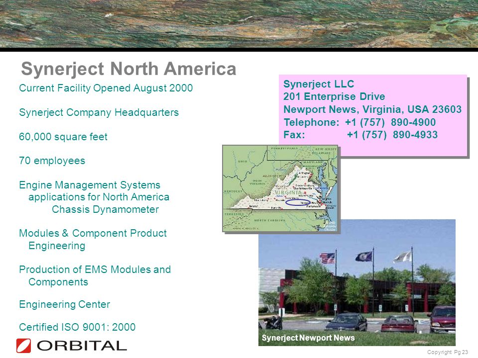 Synerject North America