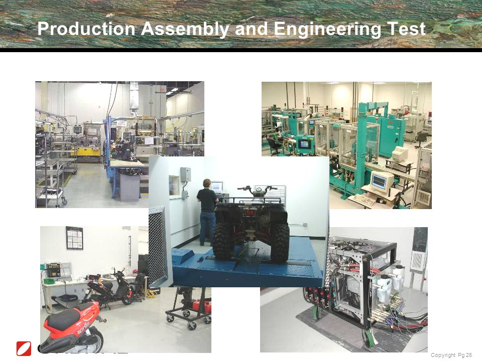 Production Assembly and Engineering Test