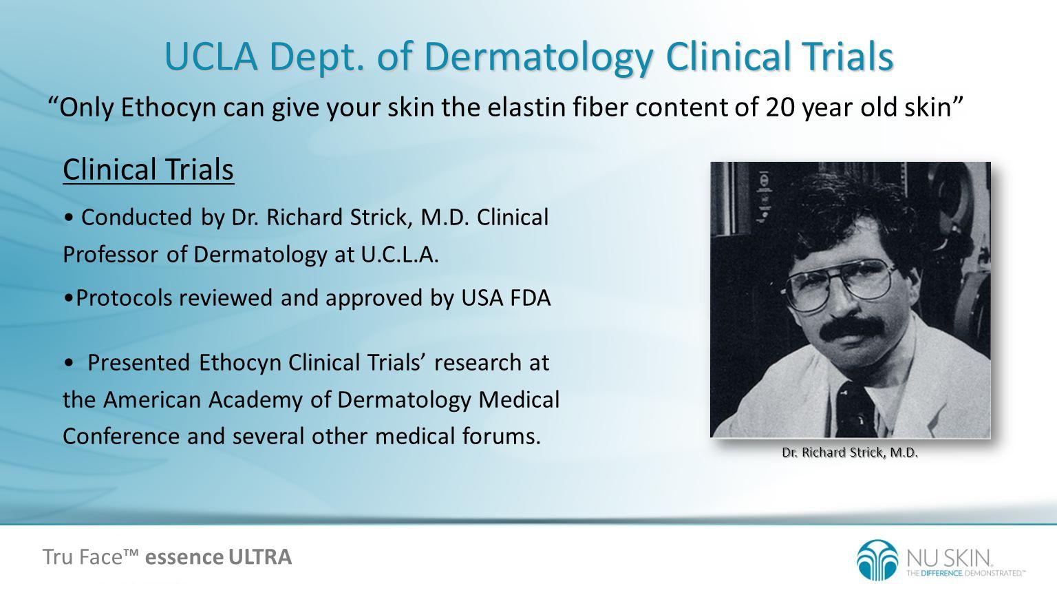 UCLA Dept. of Dermatology Clinical Trials