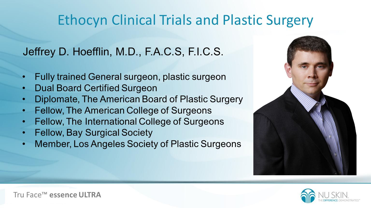 Ethocyn Clinical Trials and Plastic Surgery