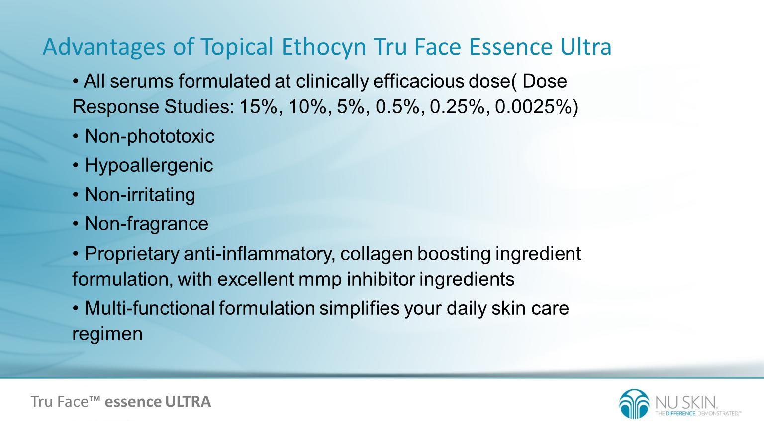 Tru Face™ essence ULTRA