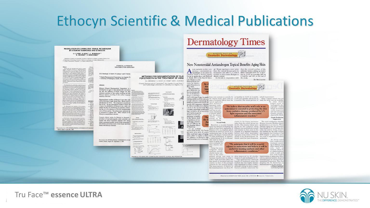 Ethocyn Scientific & Medical Publications