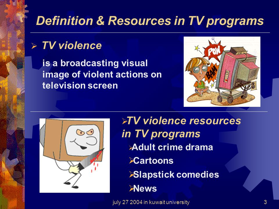 the negative effects of tv news crime and violence Effects of crime and violence in neighborhoods and schools on the school behavior and performance of  the impact of exposure to crime and violence on urban.