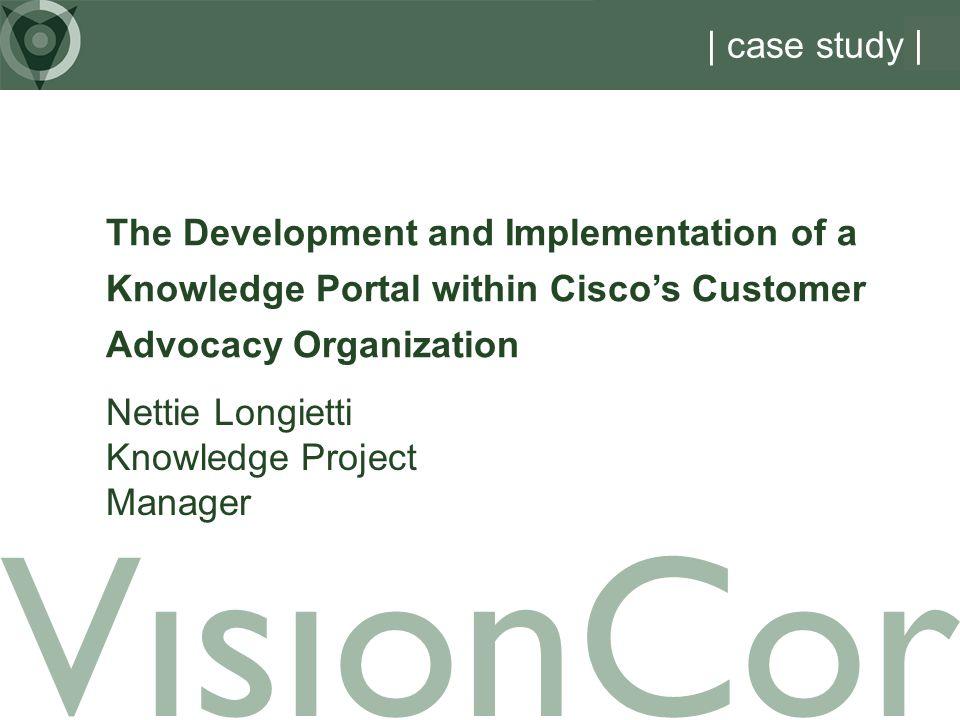 VisionCor | case study |