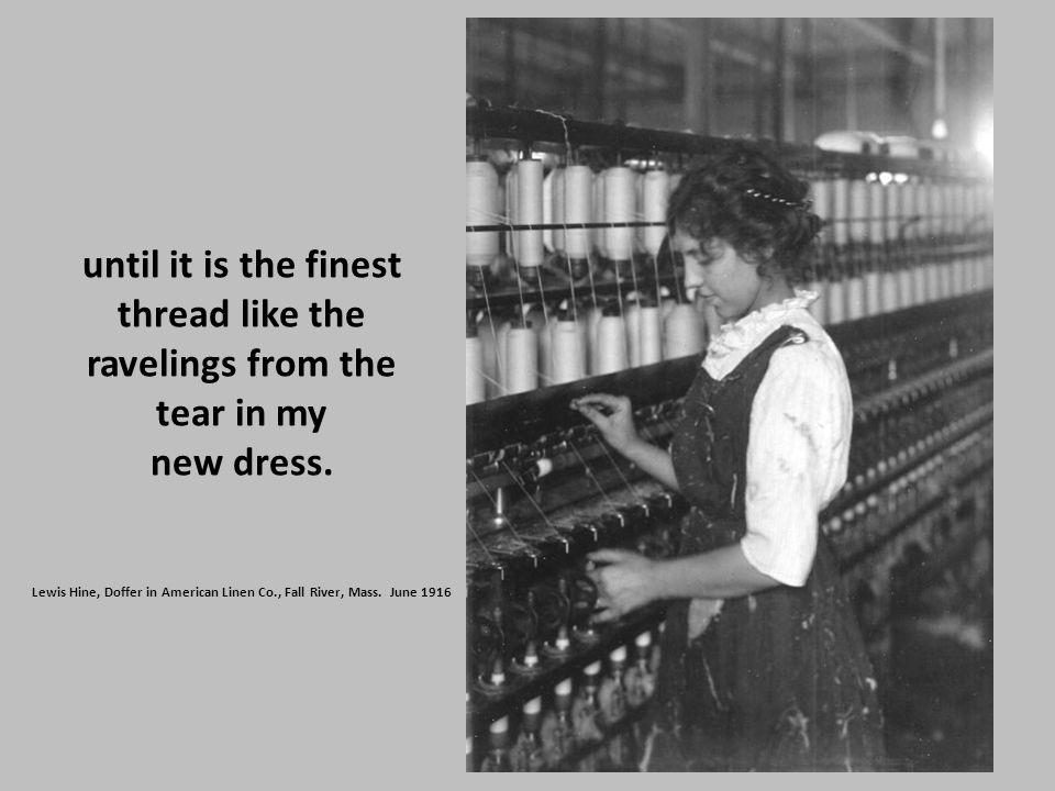 Doffer in American Linen Co. Fall River, Mass June 12 – 24, 1916