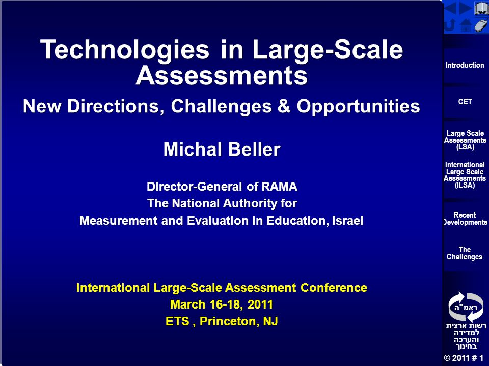 Technologies in Large-Scale Assessments