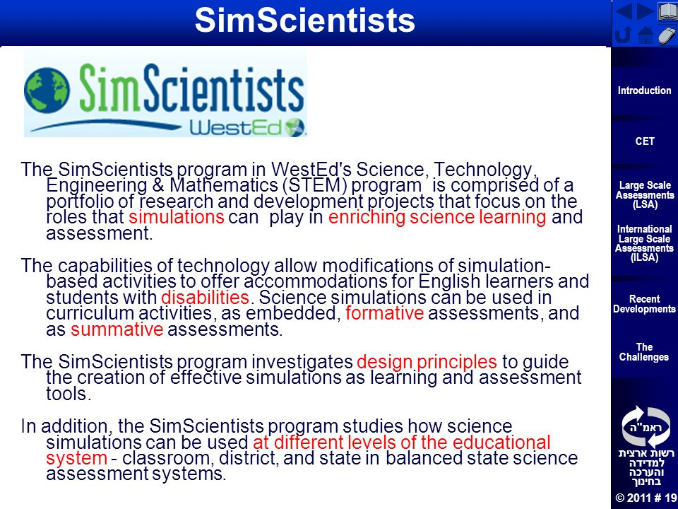 SimScientists What is