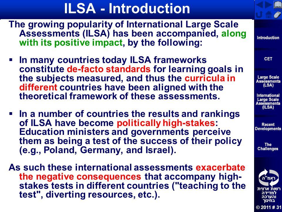 ILSA - Introduction