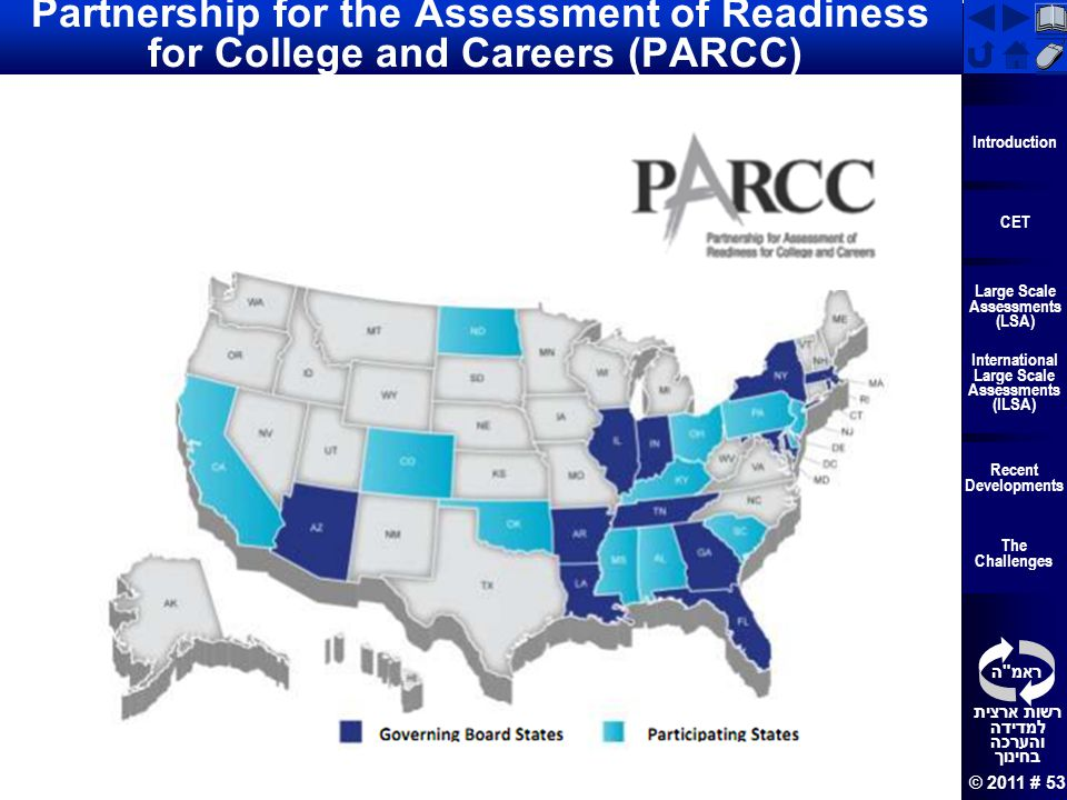 Partnership for the Assessment of Readiness for College and Careers (PARCC)