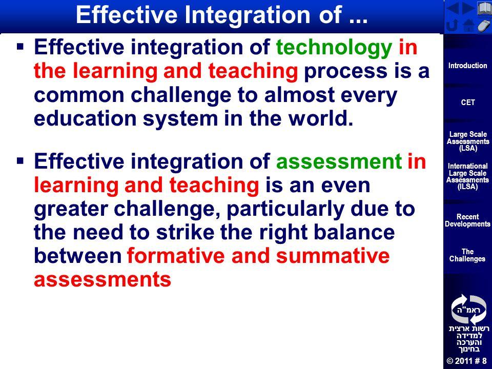 Effective Integration of ...