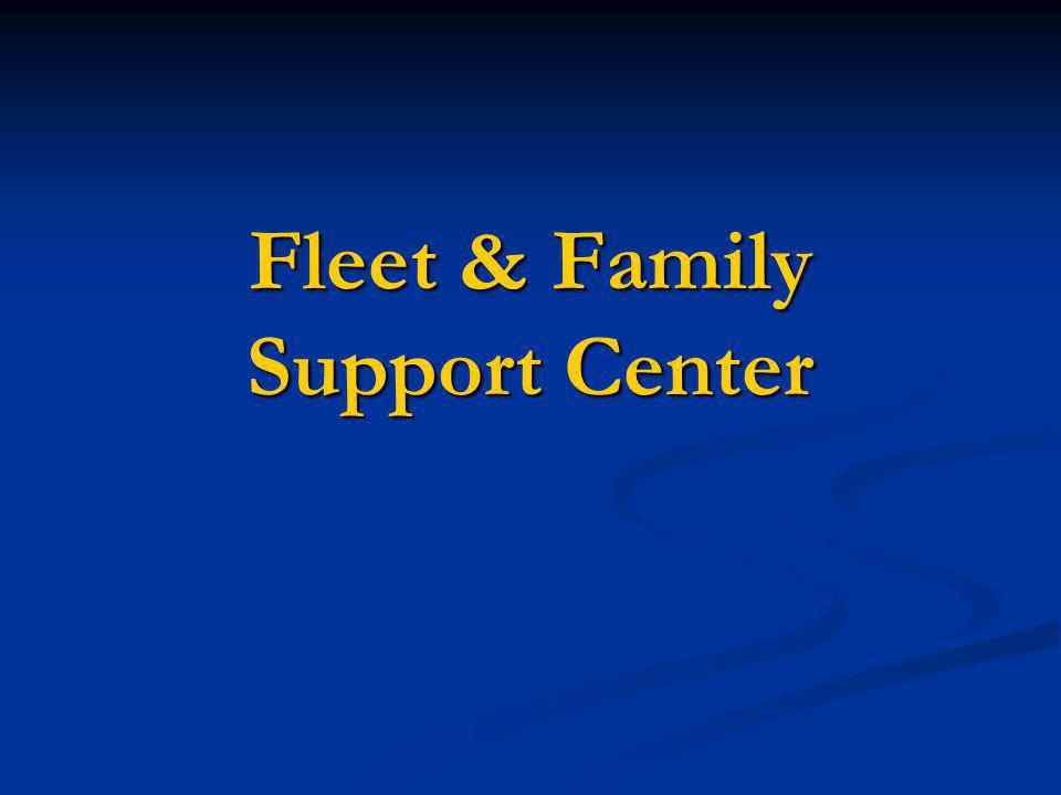 Fleet & Family Support Center