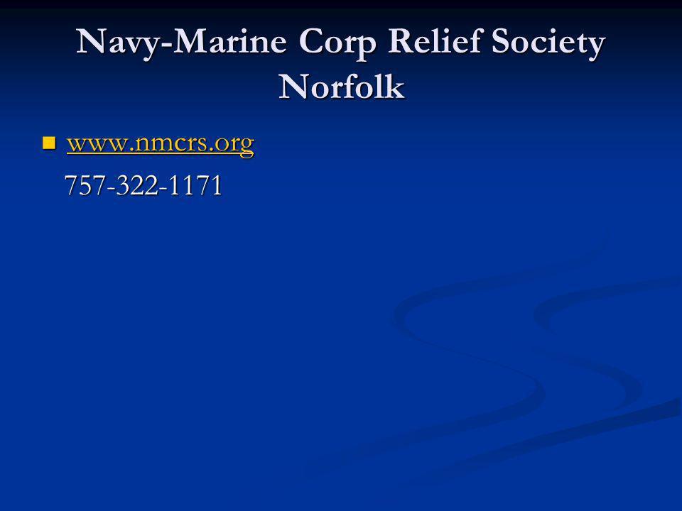 Navy-Marine Corp Relief Society Norfolk