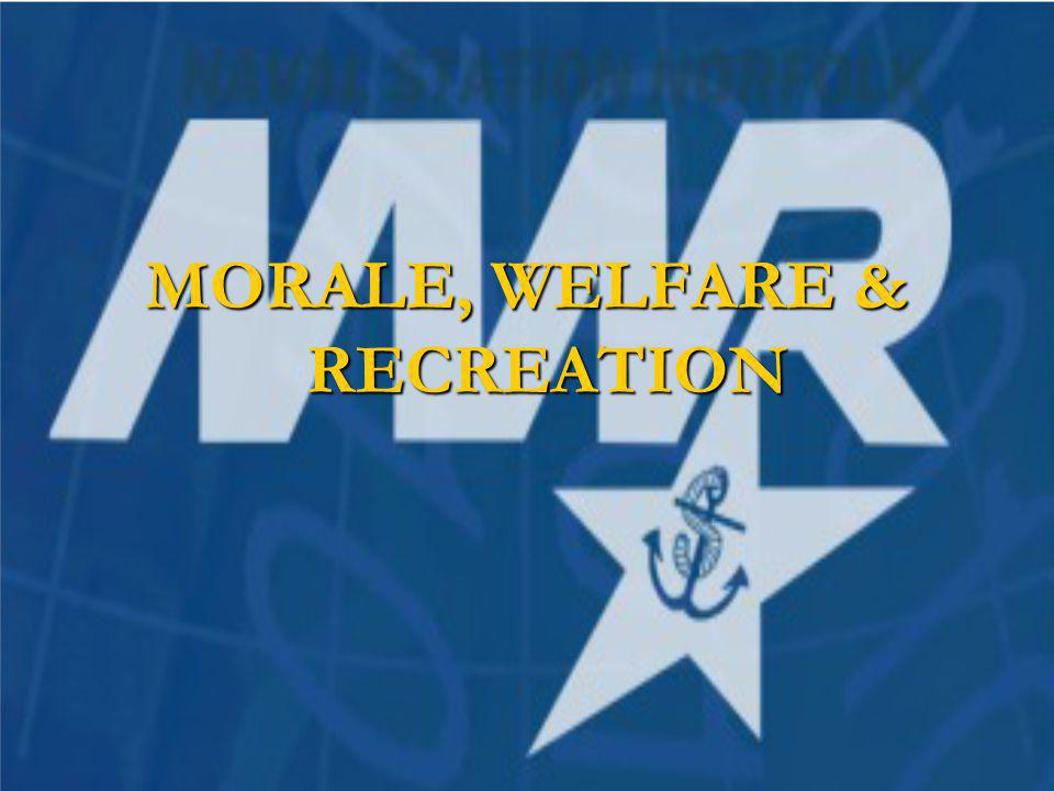 MORALE, WELFARE & RECREATION