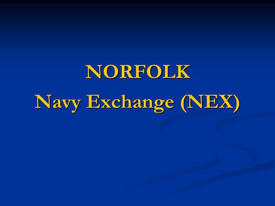 NORFOLK Navy Exchange (NEX)