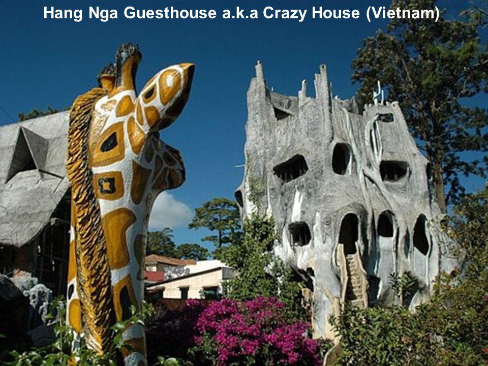 Hang Nga Guesthouse a.k.a Crazy House (Vietnam)