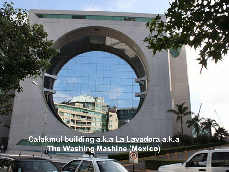 Calakmul building a.k.a La Lavadora a.k.a The Washing Mashine (Mexico)