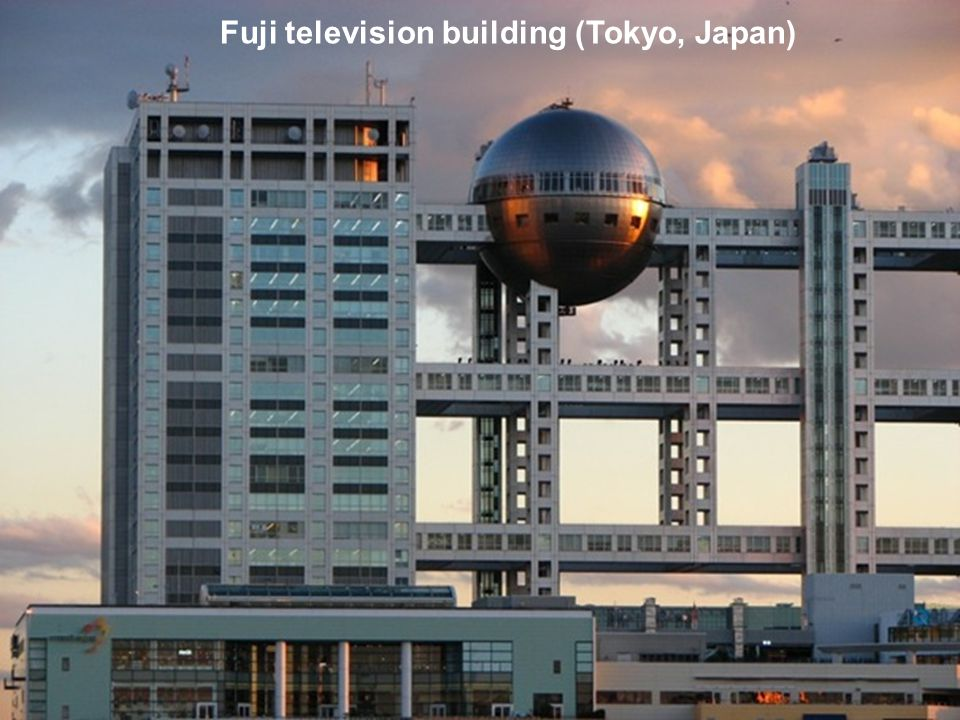Fuji television building (Tokyo, Japan)