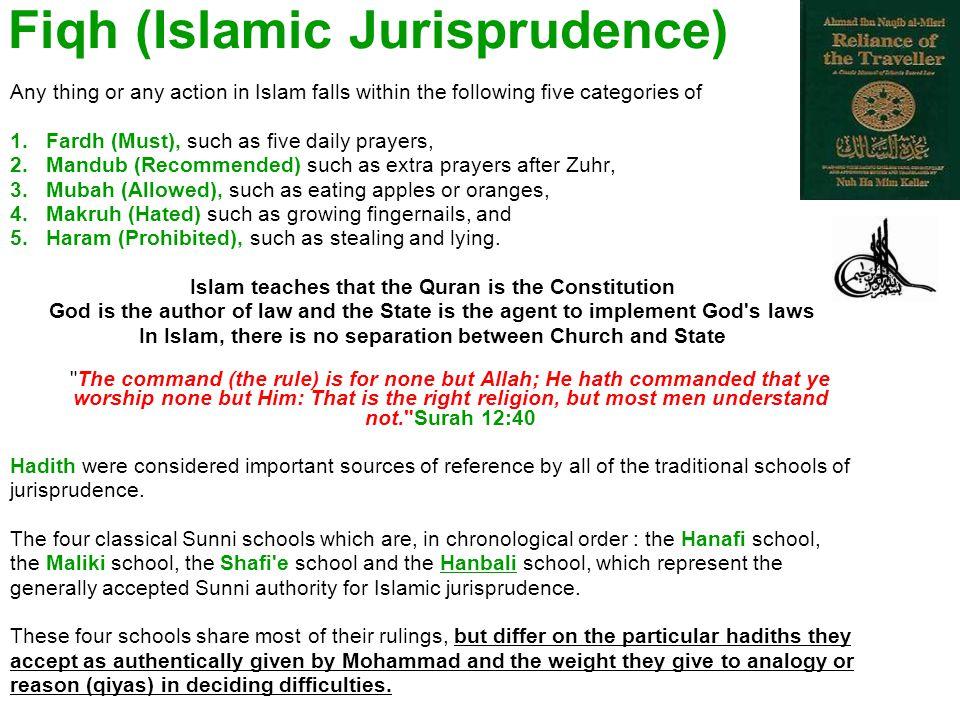 Fiqh (Islamic Jurisprudence)