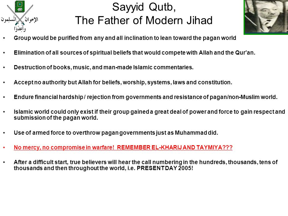 Sayyid Qutb, The Father of Modern Jihad