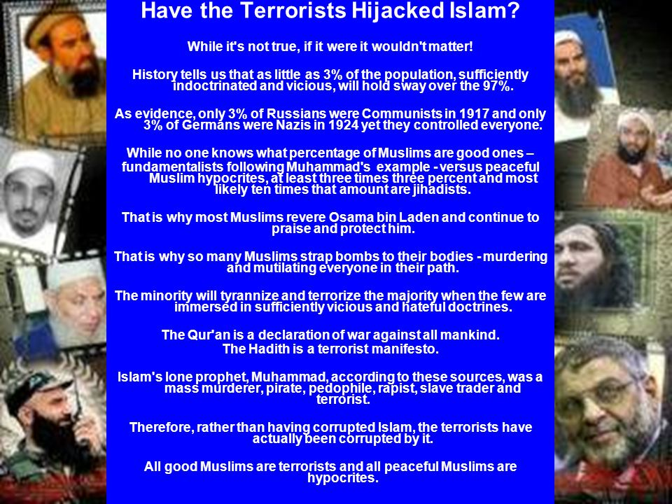 Have the Terrorists Hijacked Islam