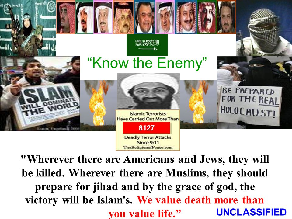 Know the Enemy 8127. A 7TH CENTURY WAY OF LIFE.