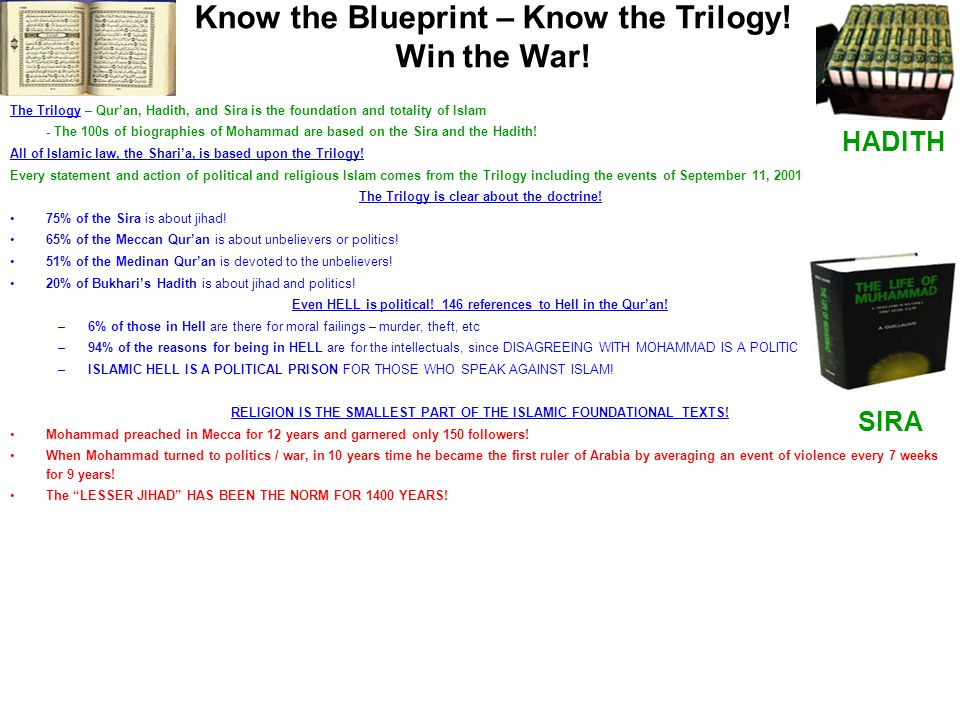 Know the Blueprint – Know the Trilogy! Win the War!