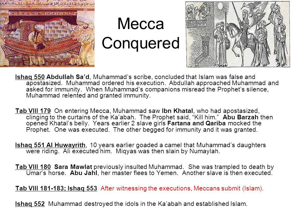 Mecca Conquered