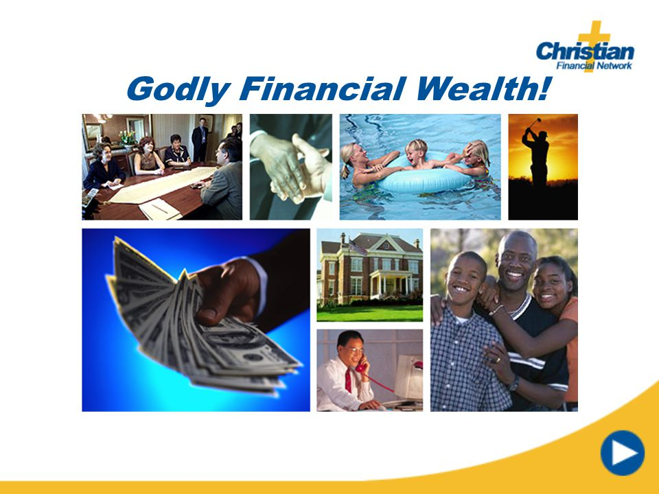 Godly Financial Wealth!