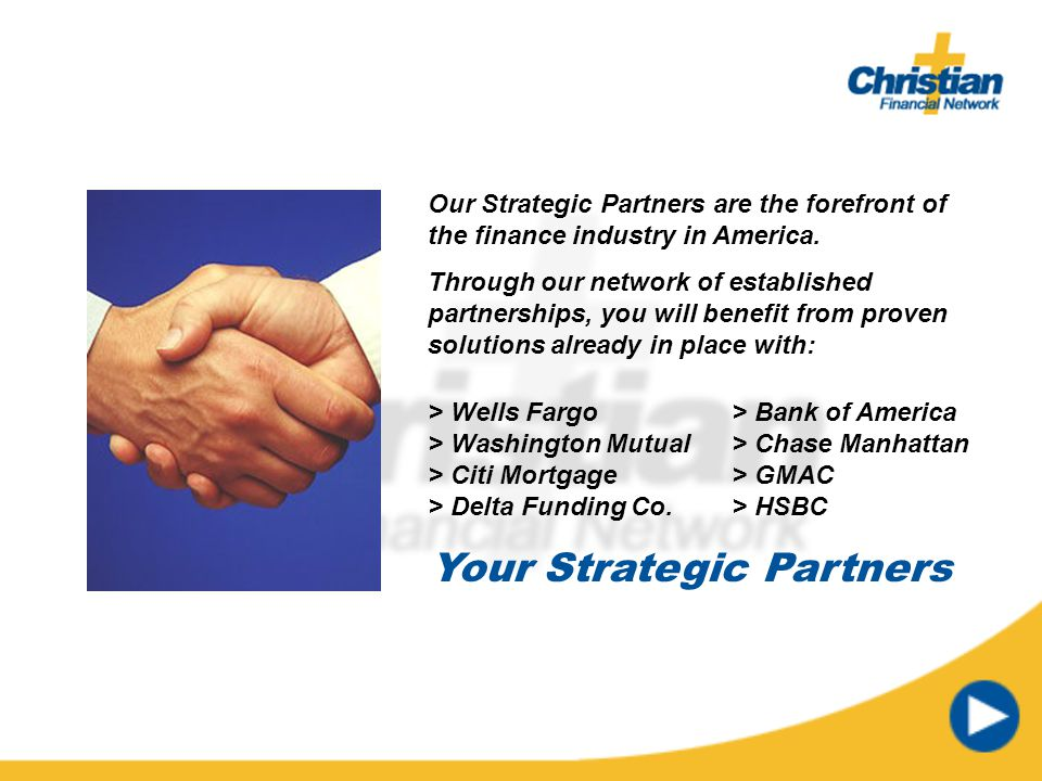 Your Strategic Partners