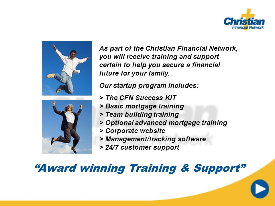 Award winning Training & Support