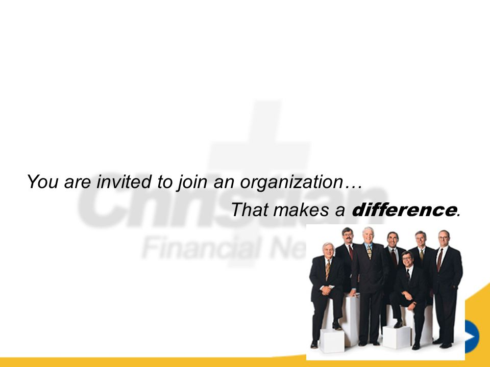 You are invited to join an organization…