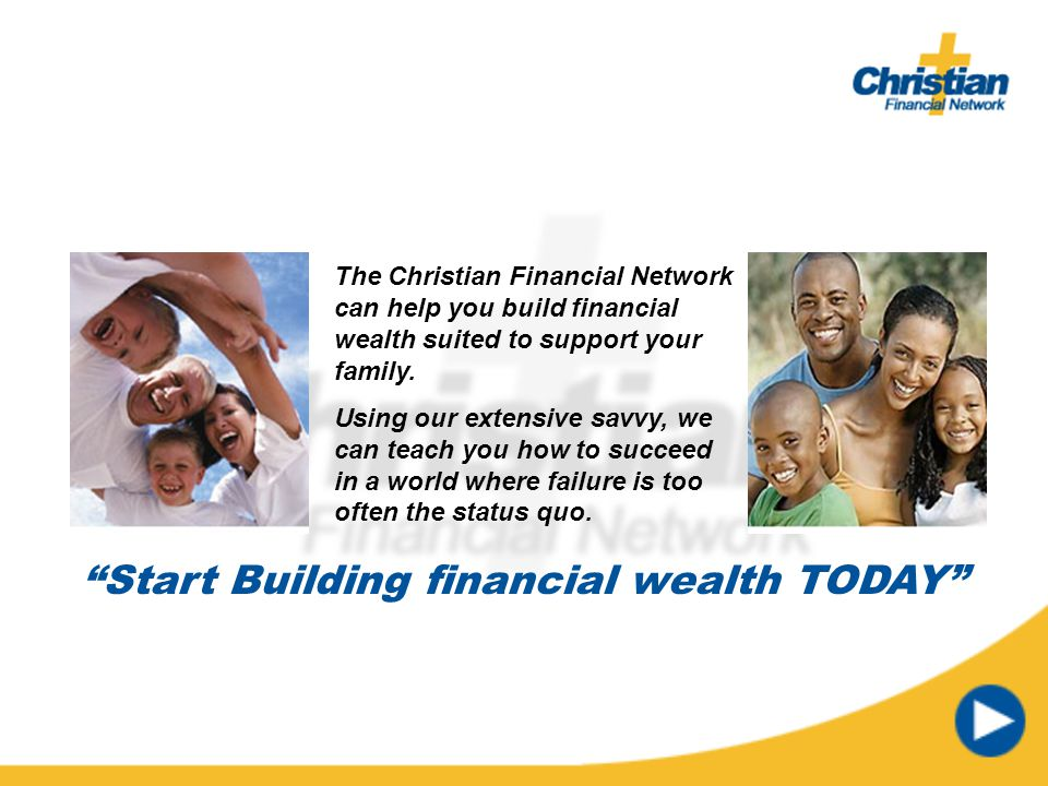 Start Building financial wealth TODAY