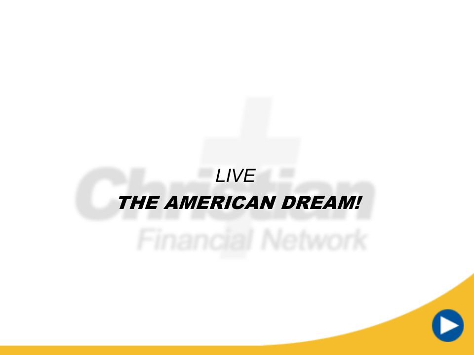 LIVE THE AMERICAN DREAM! Timer text