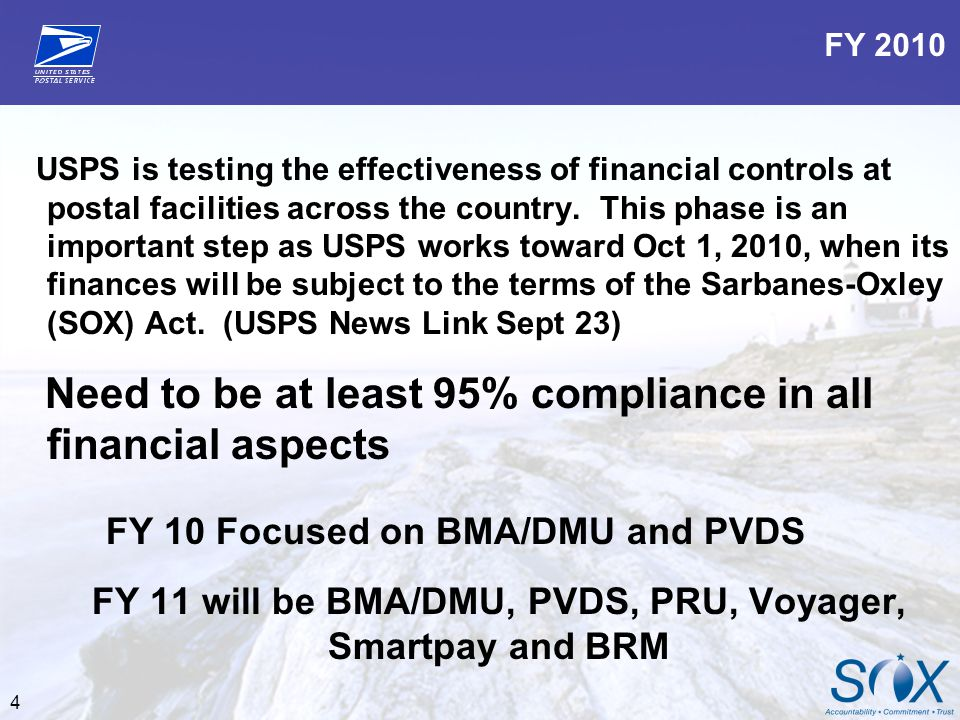 FY 11 will be BMA/DMU, PVDS, PRU, Voyager, Smartpay and BRM